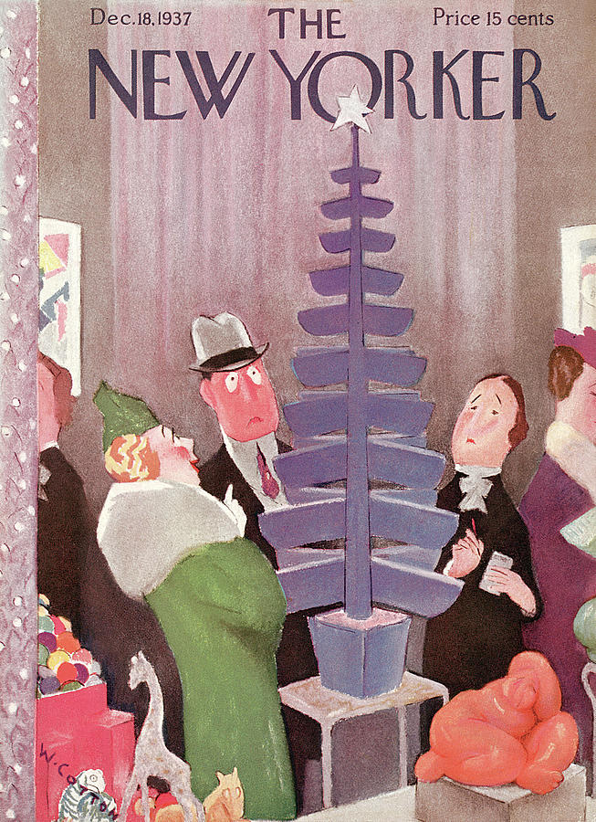 New Yorker December 18, 1937 Painting by Will Cotton