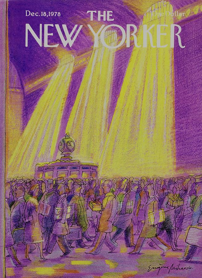 New Yorker December 18th 1978 Painting by Eugene Mihaesco