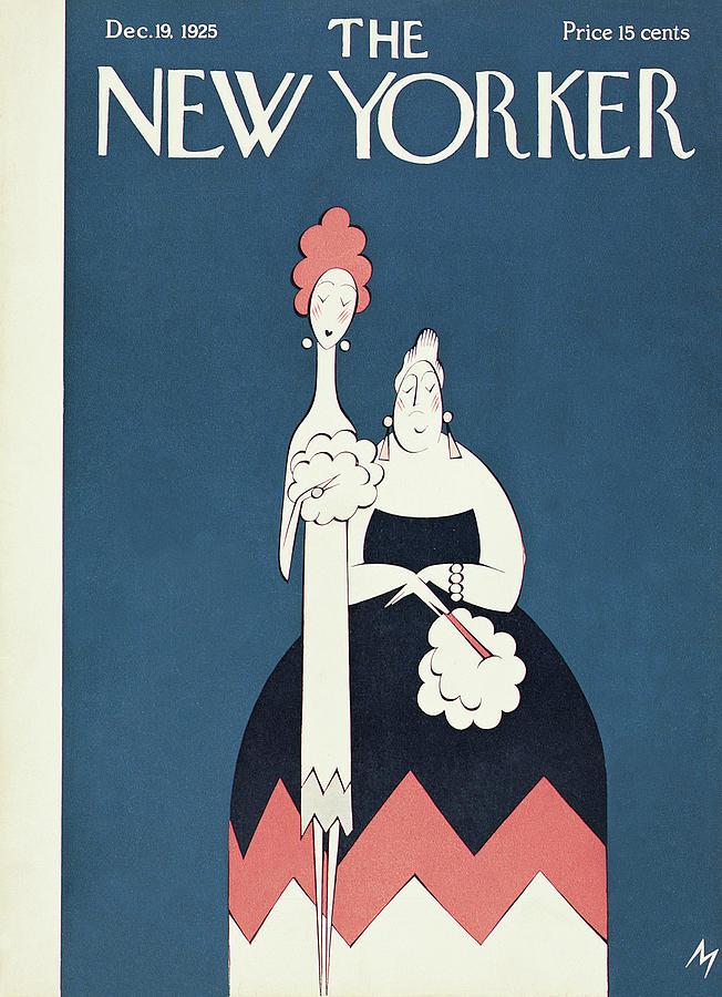 New Yorker December 19th, 1925 Painting by Julian de Miskey
