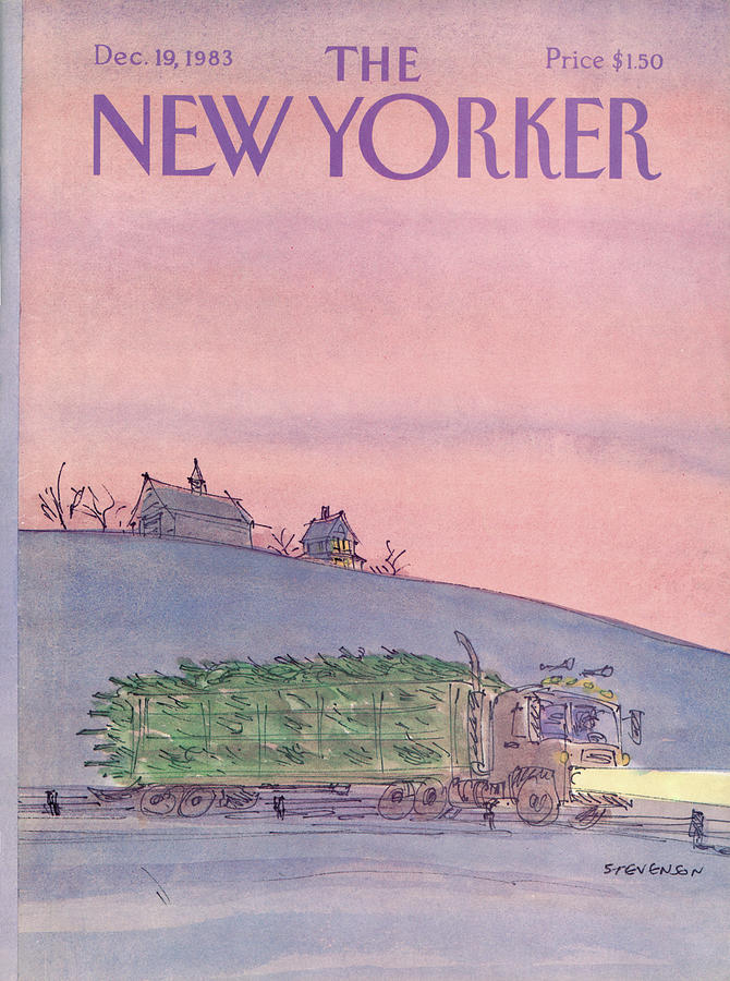 New Yorker December 19th, 1983 Painting by James Stevenson