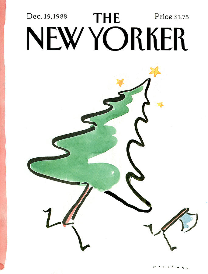 New Yorker December 19th, 1988 Painting by RO Blechman