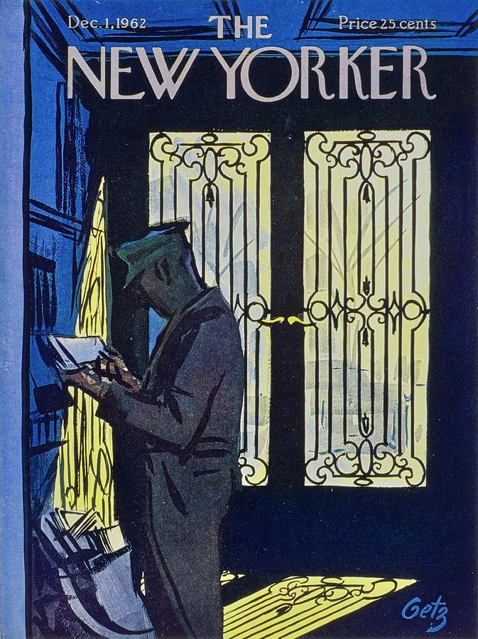 New Yorker December 1st 1962 Painting by Arthur Getz