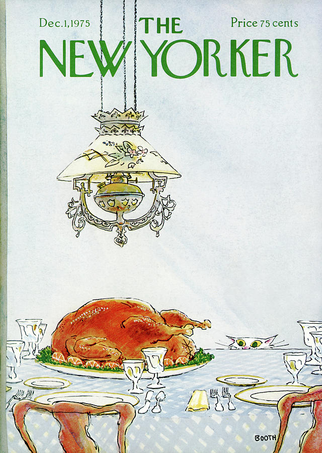 New Yorker December 1st, 1975 Painting by George Booth
