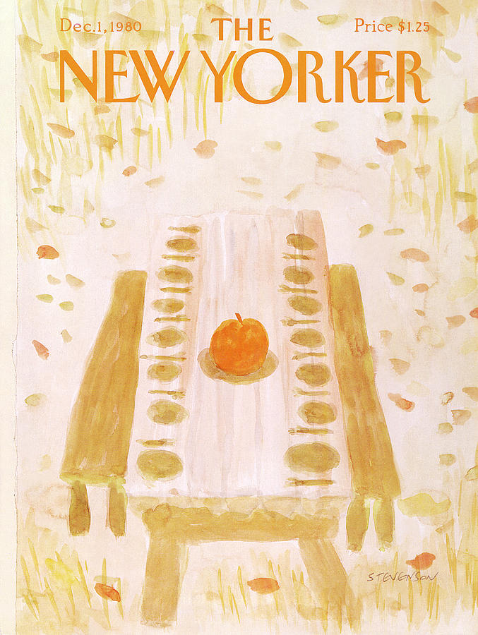 New Yorker December 1st, 1980 Painting by James Stevenson