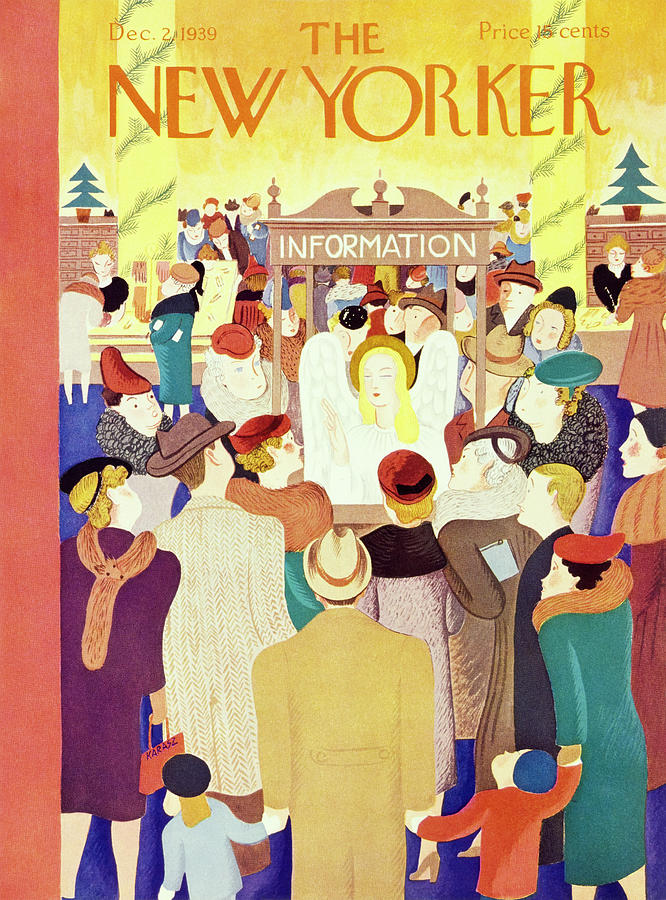 New Yorker December 2 1939 Painting by Ilonka Karasz
