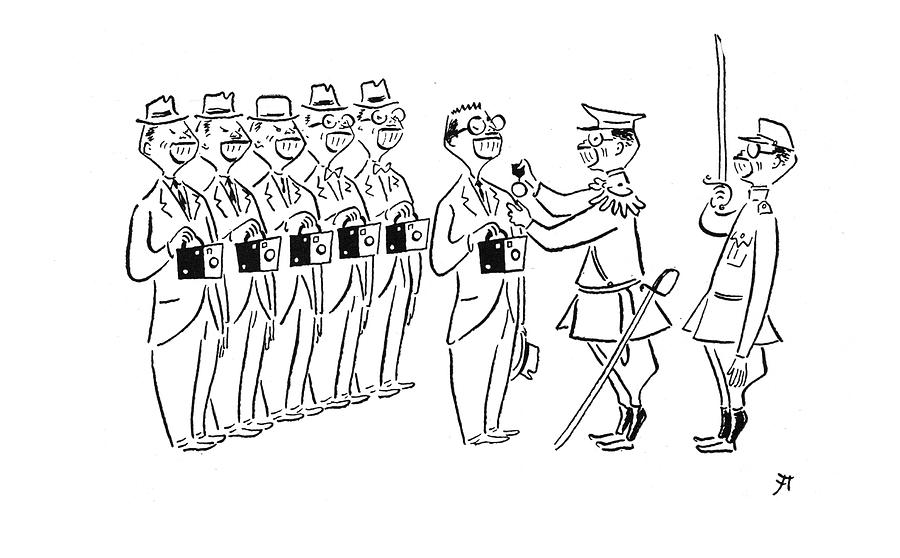 New Yorker December 20th, 1941 Drawing by Constantin Alajalov