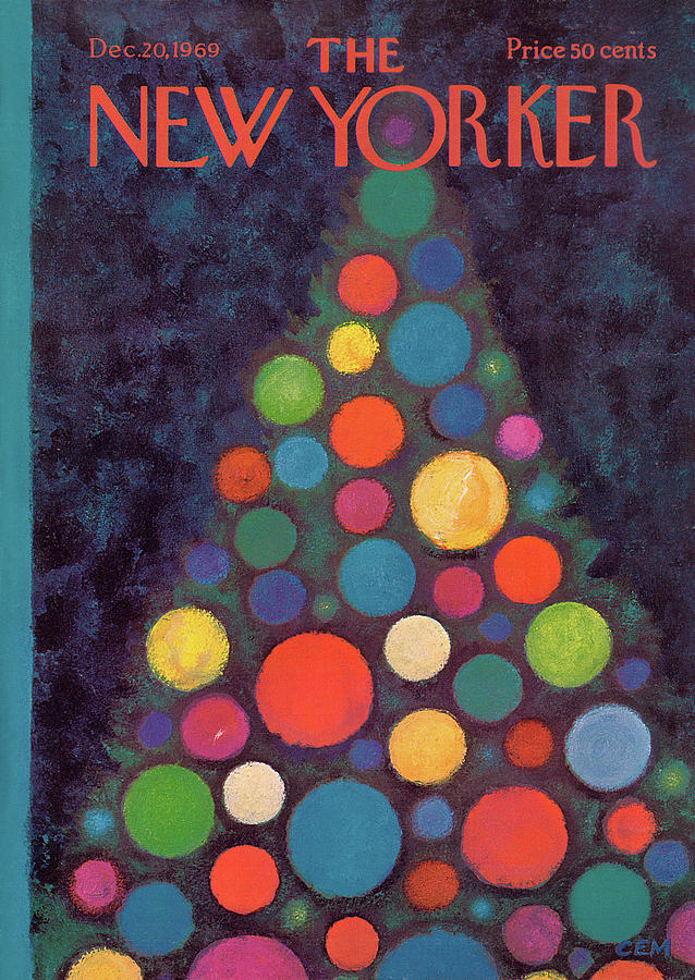 New Yorker December 20th, 1969 Painting by Charles E Martin