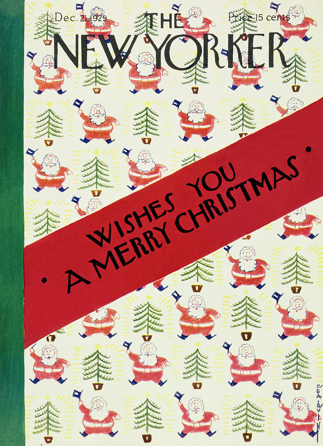 New Yorker December 21 1929 Painting by Rea Irvin
