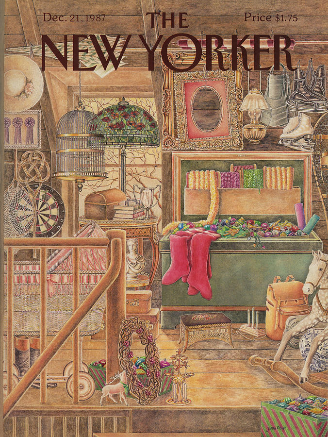 New Yorker December 21st, 1987 Painting by Jenni Oliver