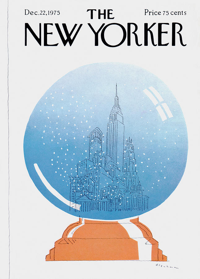 New Yorker December 22nd, 1975 Painting by RO Blechman