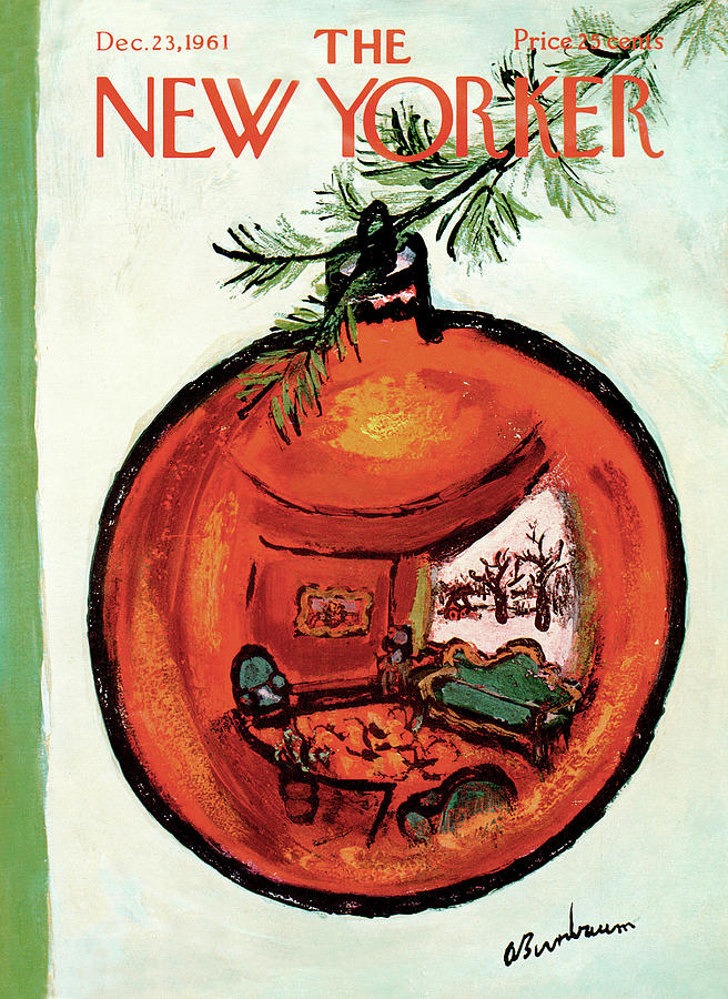 New Yorker December 23rd, 1961 Painting by Abe Birnbaum