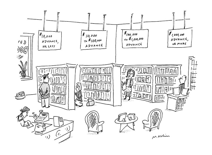 New Yorker December 23rd, 1996 Drawing by Michael Maslin