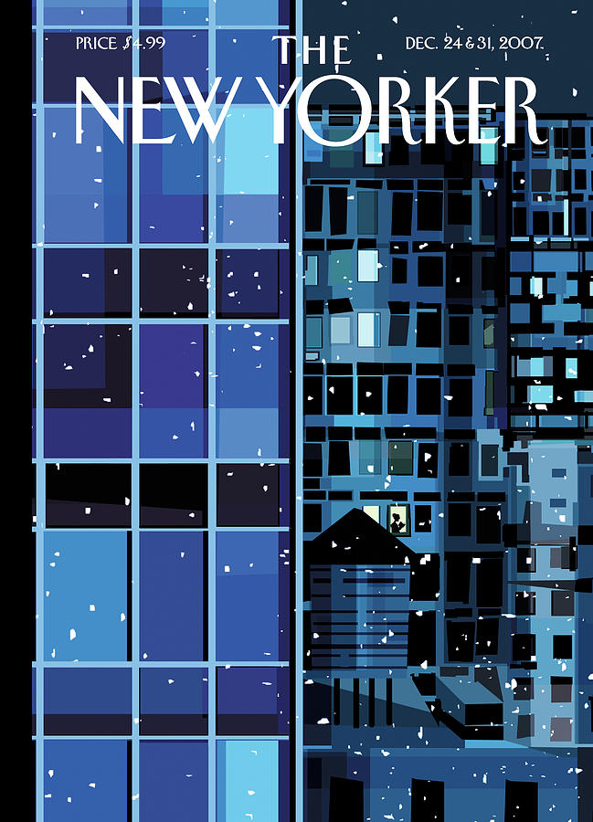 New Yorker December 24th, 2007 Painting by Kim DeMarco