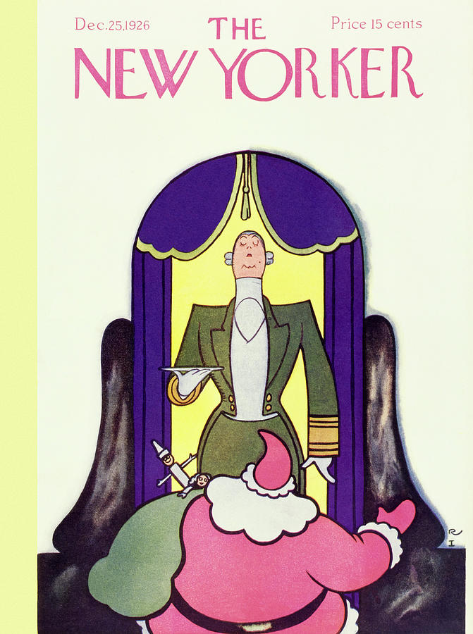 New Yorker December 25 1926 Painting by Rea Irvin
