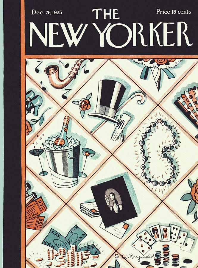 New Yorker December 26 1925 Painting by Stanley W Reynolds