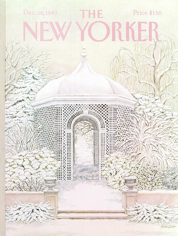 New Yorker December 26th, 1983 Painting by Jenni Oliver