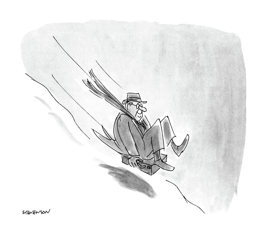 New Yorker December 26th, 1988 Drawing by James Stevenson