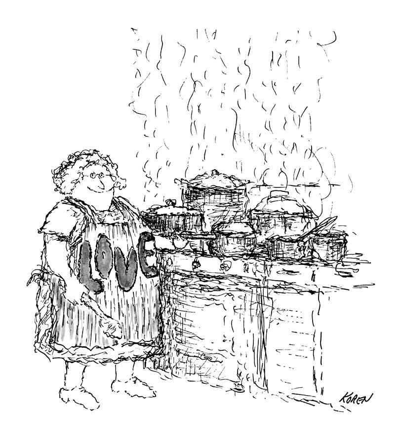New Yorker December 27th, 1969 Drawing by Edward Koren