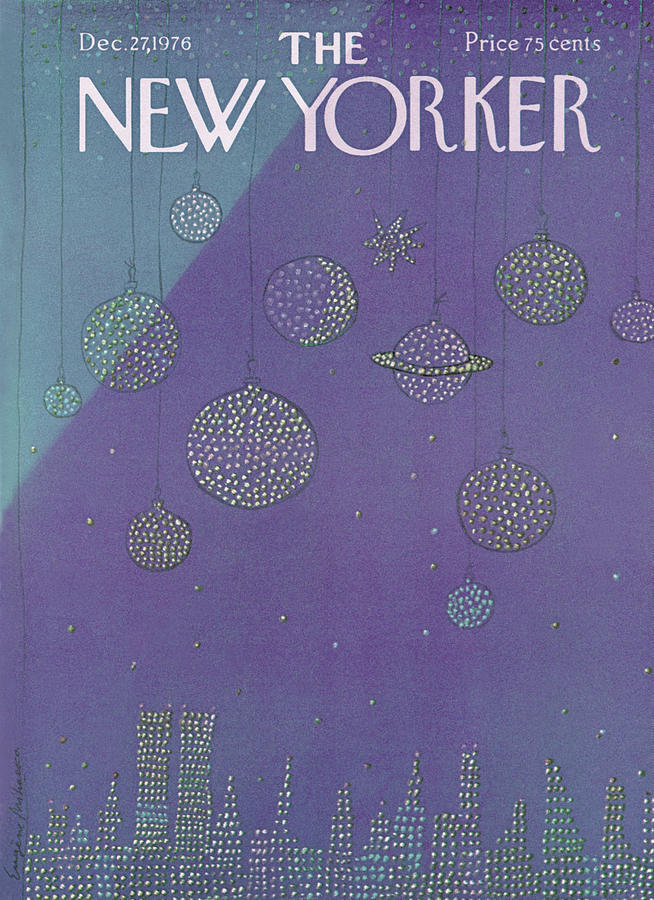New Yorker December 27th, 1976 Painting by Eugene Mihaesco