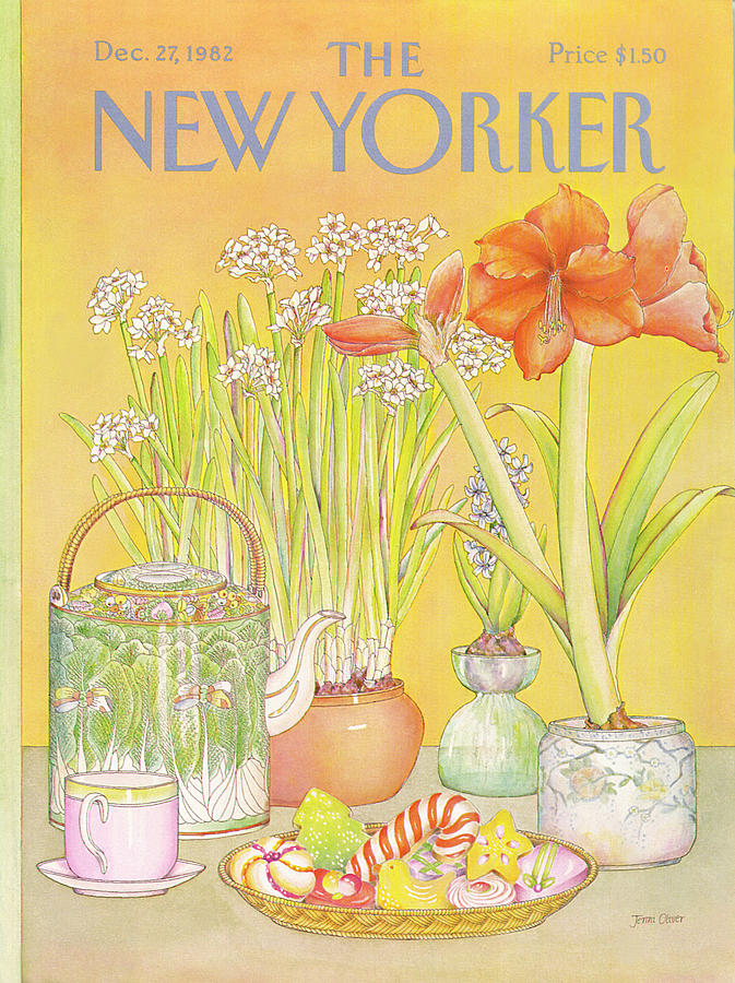 New Yorker December 27th, 1982 Painting by Jenni Oliver