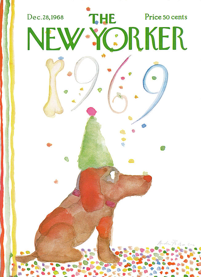 New Yorker December 28th, 1968 Painting by Andre Francois