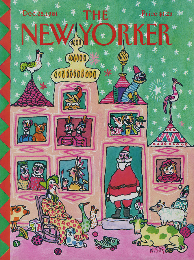 New Yorker December 28th, 1981 Painting by William Steig