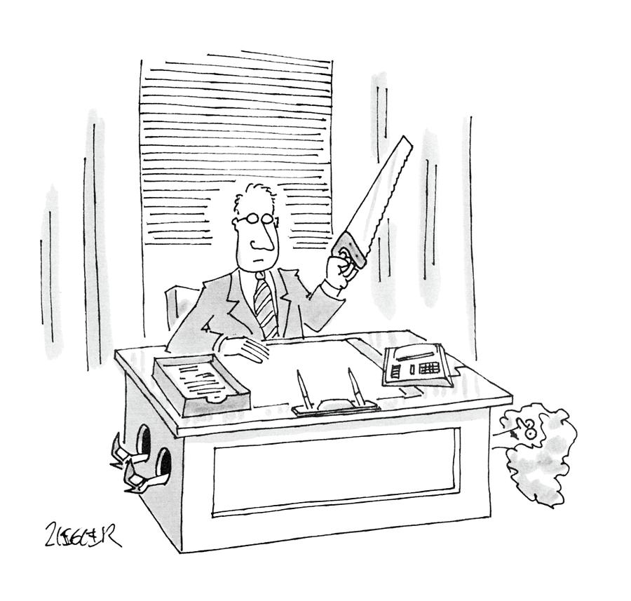 New Yorker December 28th, 1987 Drawing by Jack Ziegler