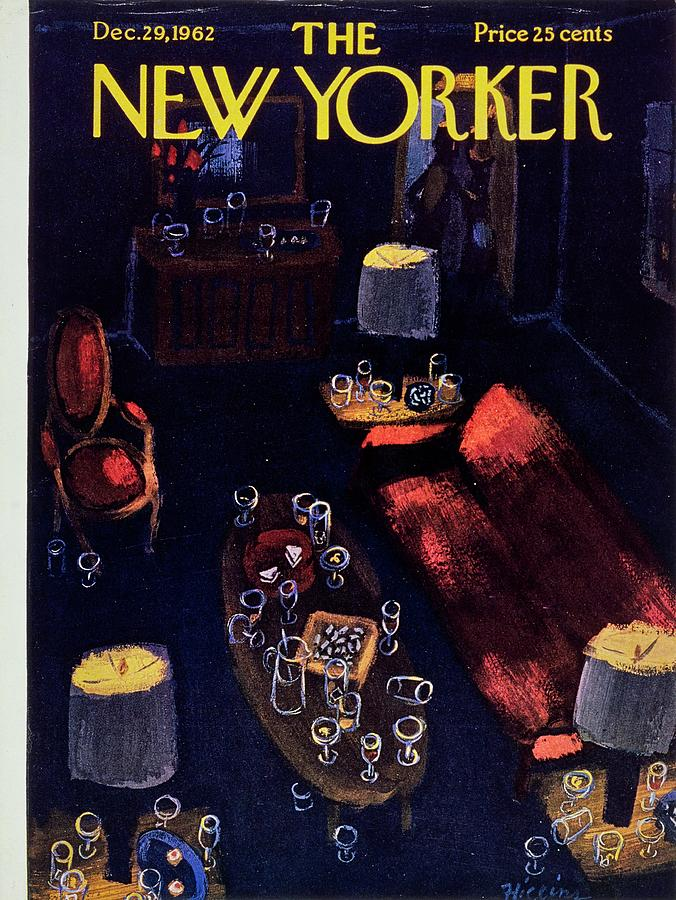 New Yorker December 29th 1962 Painting by Donald Higgins