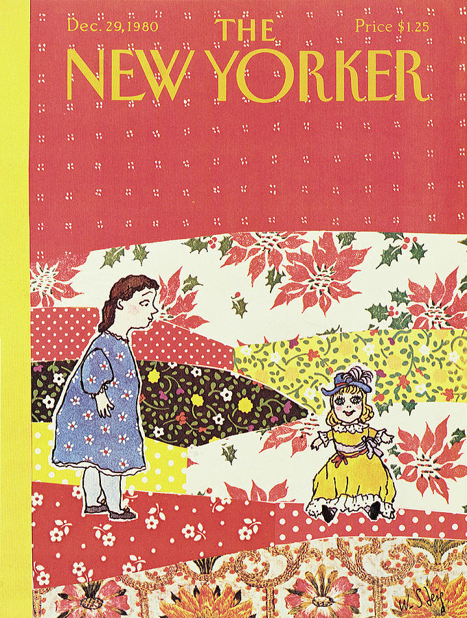 New Yorker December 29th, 1980 Painting by William Steig