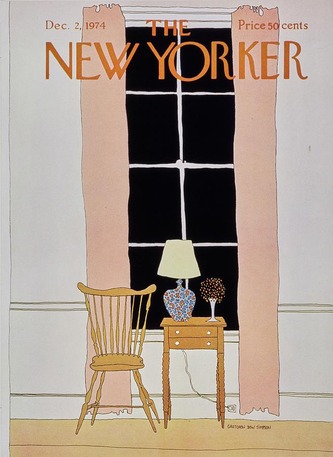 New Yorker December 2nd 1974 Painting by Gretchen Dow Simpson