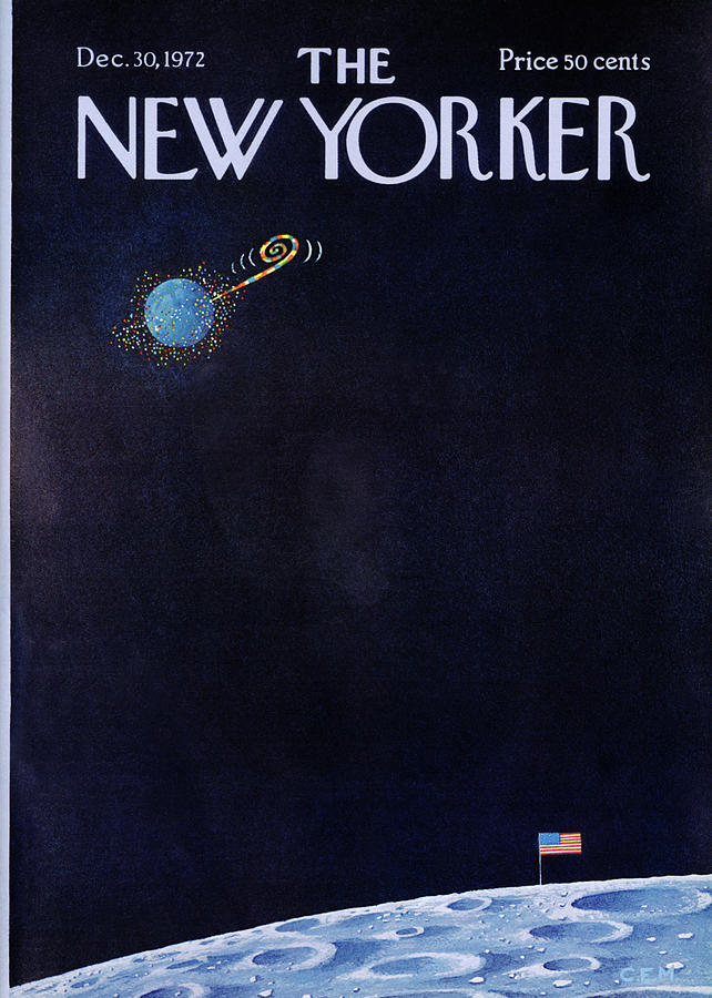 New Yorker December 30th, 1972 Painting by Charles E Martin