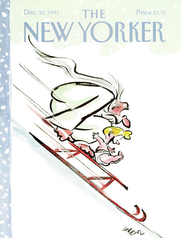 New Yorker December 30th, 1991 Painting by Lee Lorenz