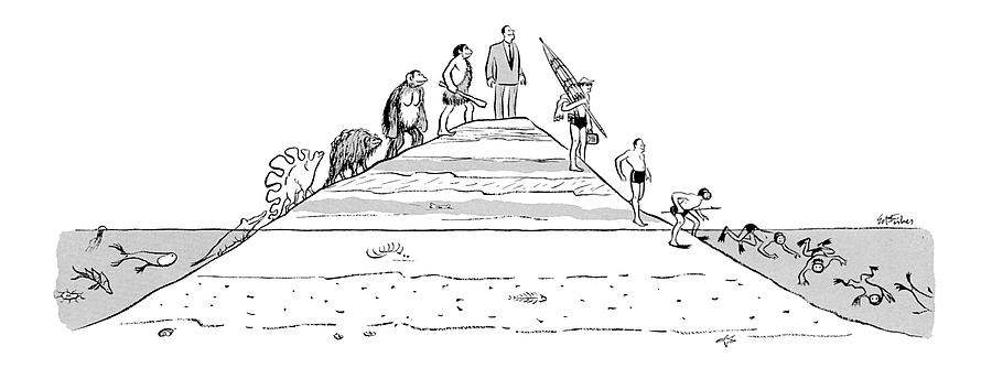 New Yorker December 31st, 1955 Drawing by Ed Fisher