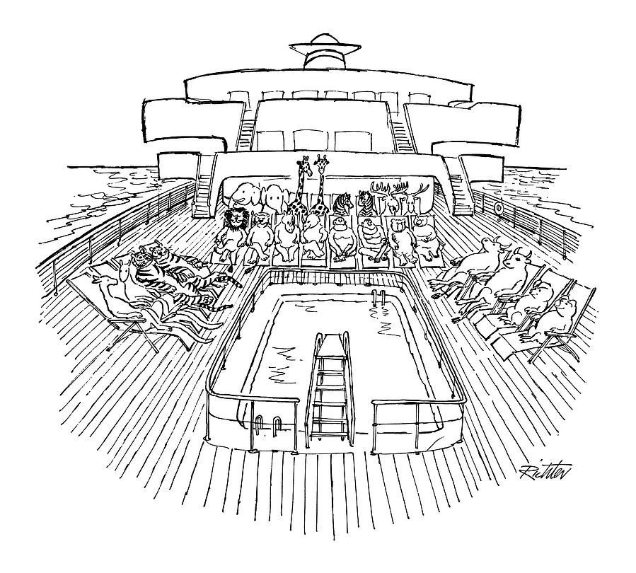 New Yorker December 31st, 1979 Drawing by Mischa Richter