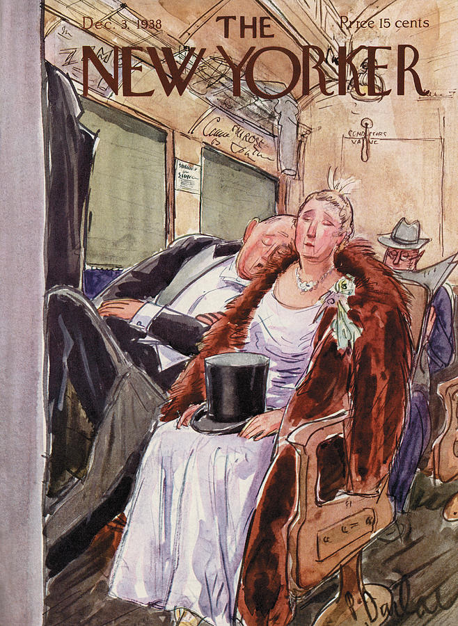 New Yorker December 3rd, 1938 Painting by Perry Barlow