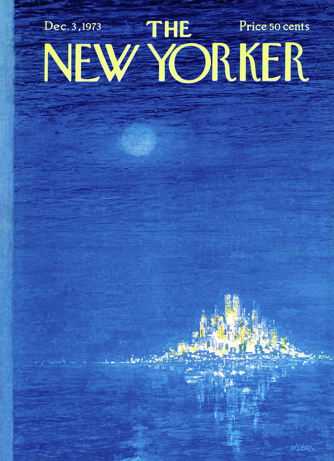 New Yorker December 3rd, 1973 Painting by Robert Weber
