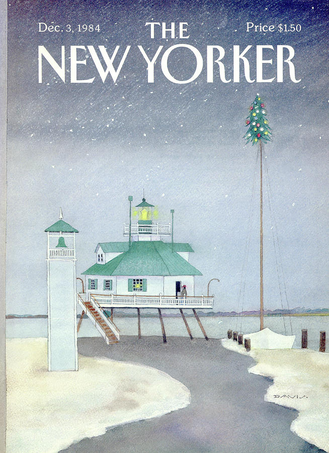 New Yorker December 3rd, 1984 Painting by Susan Davis