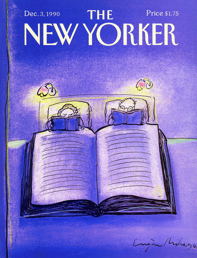 New Yorker December 3rd, 1990 Painting by Eugene Mihaesco