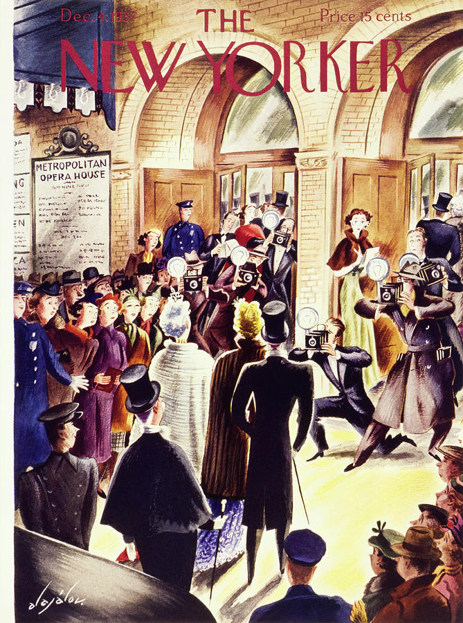 New Yorker December 4 1937 Painting by Constantin Alajalov