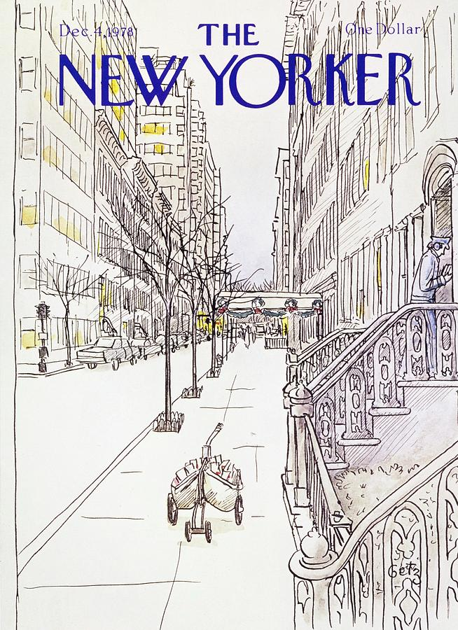 New Yorker December 4th 1978 Painting by Arthur Getz