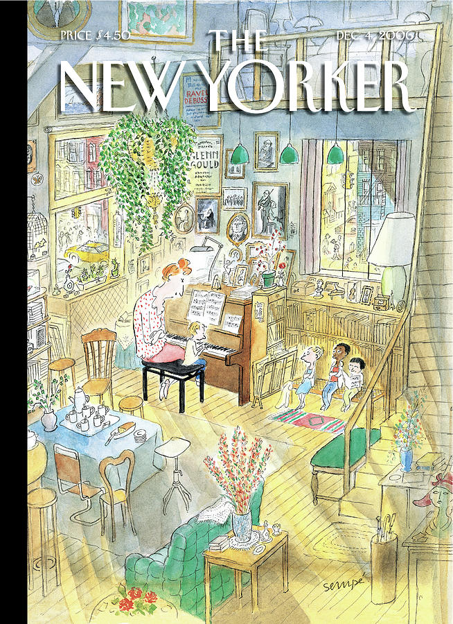 New Yorker December 4th 2006 Painting By Jean Jacques Sempe