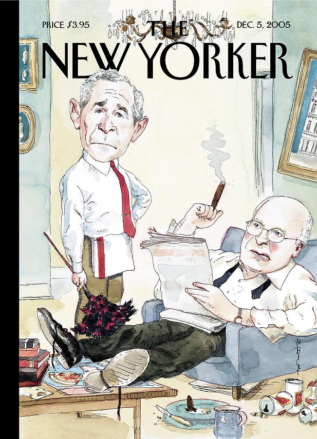 The Odd Couple Painting by Barry Blitt
