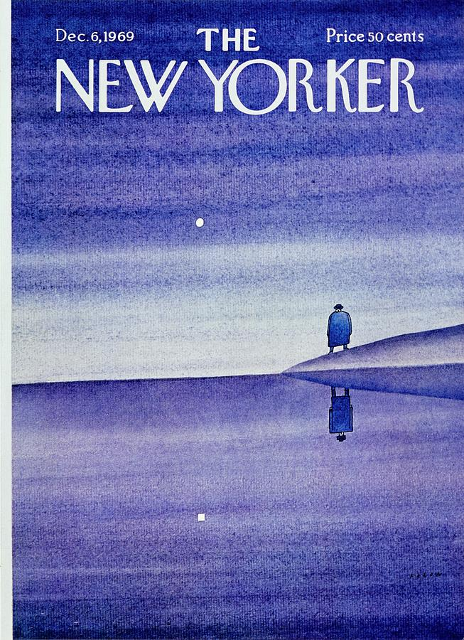 New Yorker December 6th 1969 Painting by Jean-Michel Folon