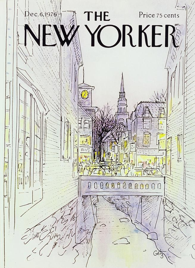 New Yorker December 6th 1976 Painting by Arthur Getz