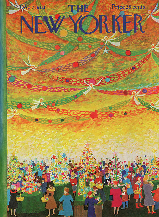 New Yorker December 7th, 1963 Painting by Ilonka Karasz