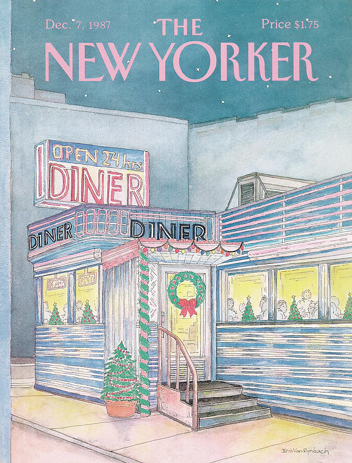 New Yorker December 7th, 1987 Painting by Iris VanRynbach