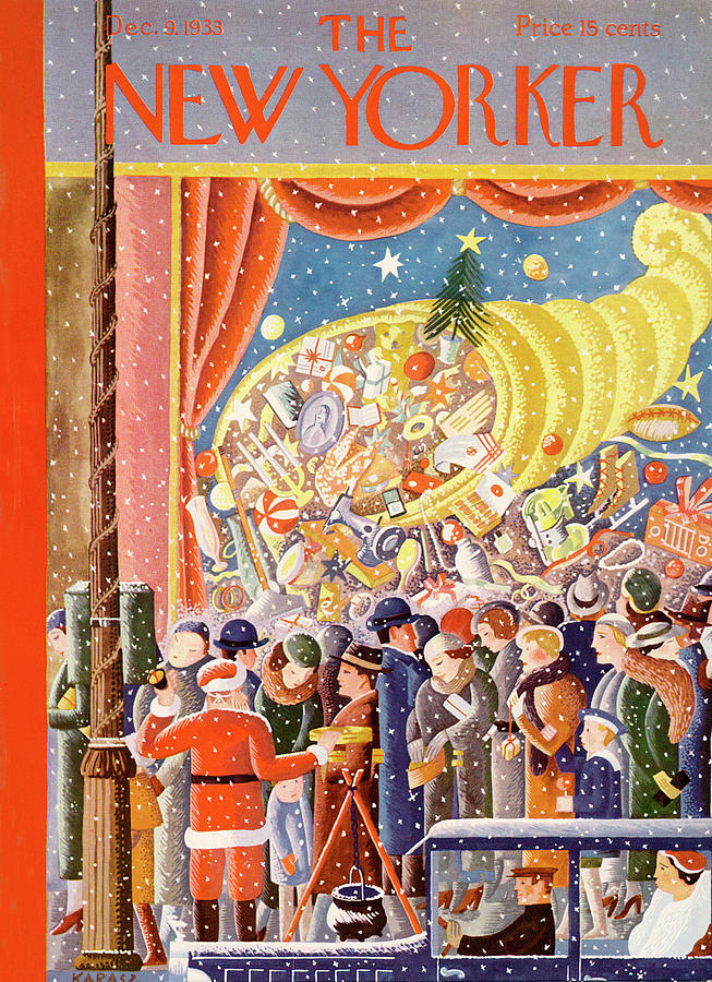New Yorker December 9th, 1933 Painting by Ilonka Karasz