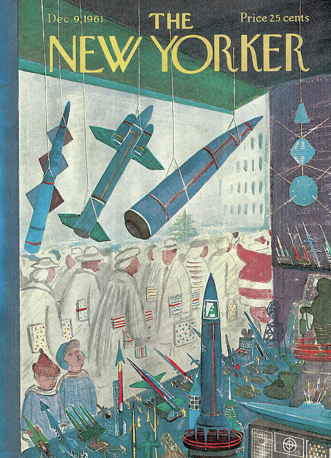 New Yorker December 9th, 1961 Painting by Anatol Kovarsky