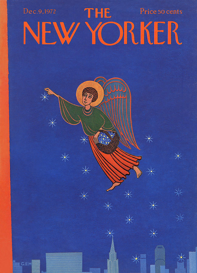 New Yorker December 9th, 1972 Painting by Charles E Martin
