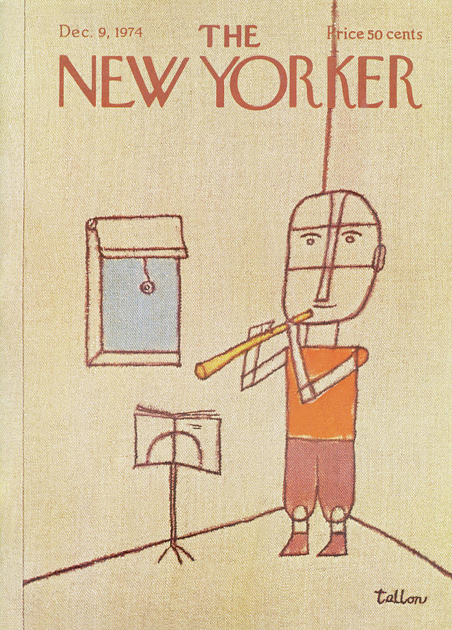 New Yorker December 9th, 1974 Painting by Robert Tallon